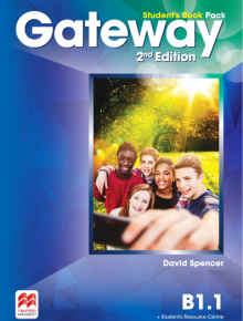 English coursebook for teenagers Gateway 2nd ed.