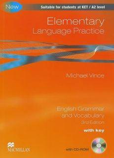 grammar and vocabulary elementary language practice