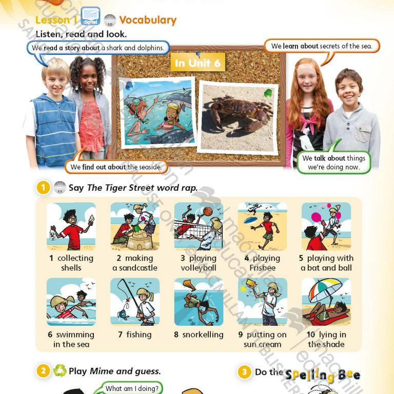 Tiger_Time_Level_3_Students_Book_Sample_Unit_Page_1