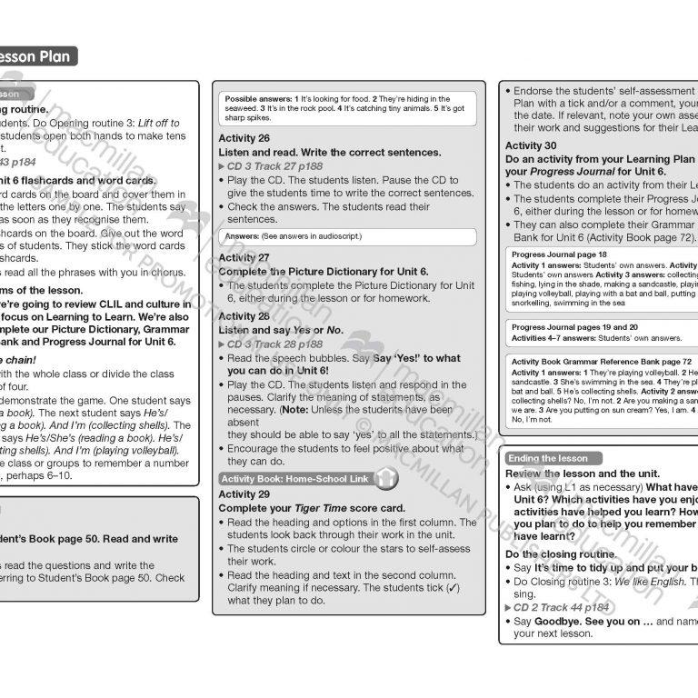 Tiger_Time_Level_3_Teachers_Book_Sample_Unit_Page_17
