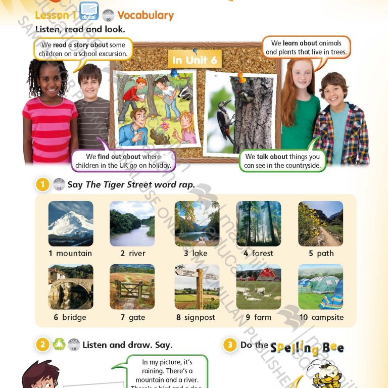 Tiger_Time_Level_4_Students_Book_Sample_Unit_Page_1