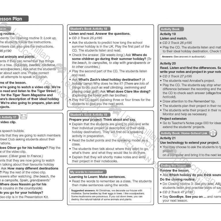 Tiger_Time_Level_4_Teachers_Book_Sample_Unit_Page_13