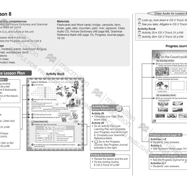 Tiger_Time_Level_4_Teachers_Book_Sample_Unit_Page_16