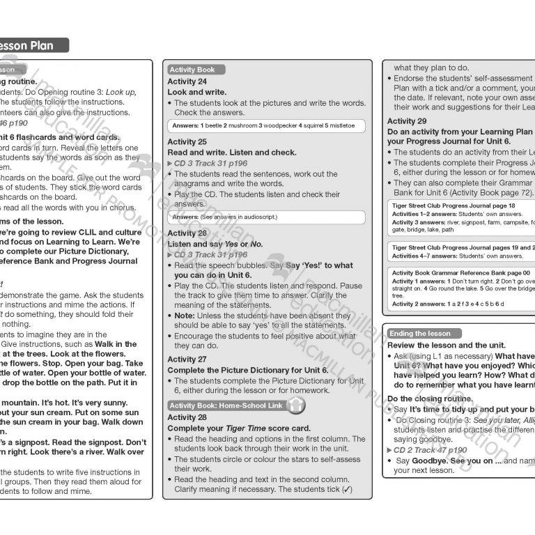 Tiger_Time_Level_4_Teachers_Book_Sample_Unit_Page_17